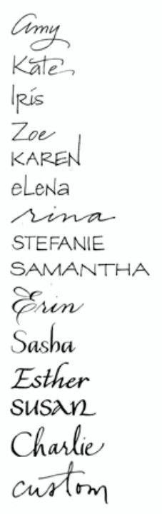 Tattoo fonts awh mine and my sisters names are next to eachother