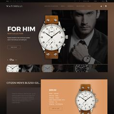 Grab Watches PrestaShop Template, equipped with a pack of innovative modules, 8 color schemes, and 4 ready-made layouts, to power your online store in no time! Watch Websites, Email Design Inspiration, Design Ideas, Web Design Websites, Web Banner Design, Watch Ad, Wordpress Theme Design, Luxury Jewelry, Luxury Watches