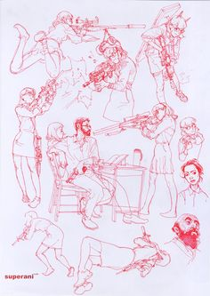 Kim Jung Gi http://superani.com/kim/ ✤ || CHARACTER DESIGN REFERENCES | キャラクターデザイン | çizgi film • Find more at https://www.facebook.com/CharacterDesignReferences & http://www.pinterest.com/characterdesigh if you're looking for: #grinisti #komiks #banda #desenhada #komik #nakakatawa #dessin #anime #komisch #manga #bande #dessinee #BD #historieta #sketch #strip #fumetto #settei #fumetti #manhwa #koominen #cartoni #animati #comic #komikus #komikss #cartoon || ✤