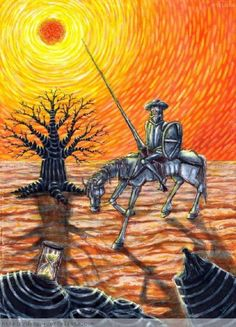 QUIJOTE MODERNO - Norton Safe Search Sand Sculptures, Wood Sculpture, Don Quixote Quotes, Man Of La Mancha, Dom Quixote, Don Miguel, Graffiti Drawing, Horse Art, String Art
