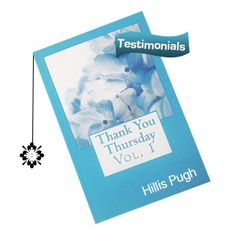 Reader Appreciation - Thank You Thursday - Hillis Pugh Talk about inspiration, this book is amazing.
