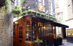Ye Olde Mitre, Farringdon. The Most hidden pub in London!