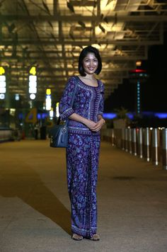 Singapore Airlines cabin crew chief purser Singapore girl