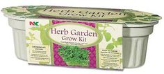 PLANTATION PRODUCTS Herb Garden Planter Kit
