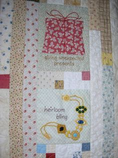 Few of My Favorite Things Quilt - presents