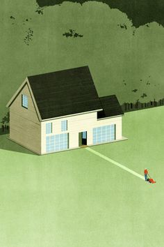 Alessandro Gottardo, Shout - Middlebury-Magazine-An-american-town Graphic Design Illustration, Illustration Art, Graphic Art, Dutch Uncle, Lone Survivor, The Departed, Its Nice That, Less Is More, American
