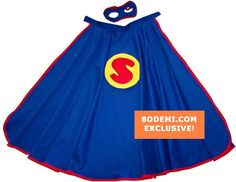 I Am My Own Hero Cape & Mask by BODEMI by bodemi- Designer Children's apparel and accessories that are the must have luxury for those who appreciate the combination of quality and chic practicality when it comes to fashion