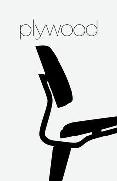 Mid Century Chair Art. Everyone wants an Eames chair. So do I. Modern Art.