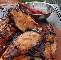 Buttermilk brined chicken breasts