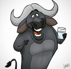 S. T. Lewis #waterbuffalo #buffalo #water