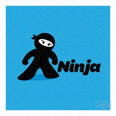N - ninja | StockLogos.com by Nancy Carter Design