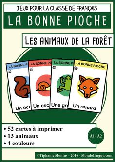 BP - Les animaux de la forêt | Mondolinguo - Français
