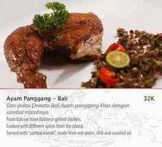 Ayam panggang Bali