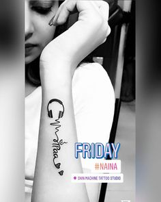 "353 Likes, 13 Comments - Ashwini Mehta (@ashwini__mehta___) on Instagram: ""#tattoo #earphones #maa #paa #inked #permanantely #music #musictattoo #lifeline"""