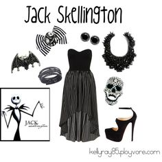 """Jack Skellington"" by kellyray85 on Polyvore"