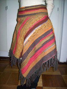 curso de telar- clases de telar-tejido a telar- telares - Santiago Textiles, Weaving, Tunic, Quilts, Blanket, Knitting, Crochet, How To Make, Baby