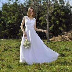 Vestido de Noiva Veneza - O Amor É Simples