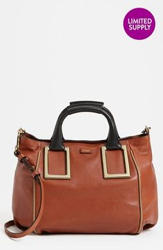 Chloé 'Ethel - Medium' Leather Tote available at #Nordstrom