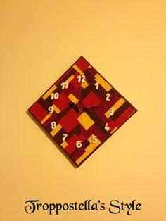 Orologio da parete in fimo Troppostella's Style