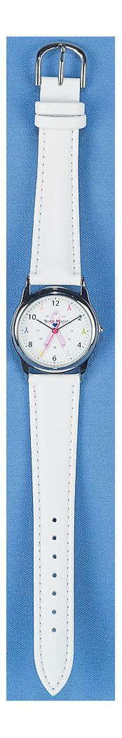Nurse Mates Share The Care Ribbons Watch - Breast Cancer Awareness accessories