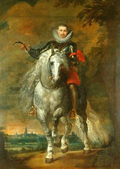 https://flic.kr/p/nauHJW   Portrait of Don Rodrigo Calderon on Horseback   c. 1612-1615. Oil on canvas. 304,8 x 216,5 cm. The Royal . Collection, London. 404393. Conde de la Oliva de Plasencia y marqués de Siete Iglesias.