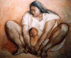 Painting by Francisco Zúñiga: José Jesús Francisco Zúñiga Chavarría (December 26, 1912 – August 9, 1998) was a Costa Rican-born Mexican artist, known both for his painting and his sculpture