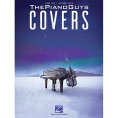 ThePianoGuys Covers (Solo Piano / Optional Cello) Sheet Music Book --Includes Scottish Fight Song/Amazing Grace!
