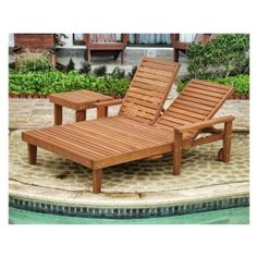 Amazon.com: Best Redwood Double Summer Chaise Lounge Size - Heart - Grade B Wood With Arms: Patio, Lawn & Garden