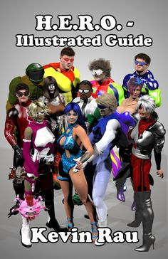 The character and background guide to the H.E.R.O. superhero universe.  Kindle link: http://www.amazon.com/H-E-R-O-Illustrated-Guide-ebook/dp/B007TKVQWA/ref=la_B007EHD6US_1_13_title_0_main?s=books=UTF8=1357176650=1-13