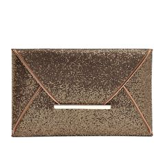 Women Fashion Clutch Sequins Bling Evening Bag New Envelope Shape