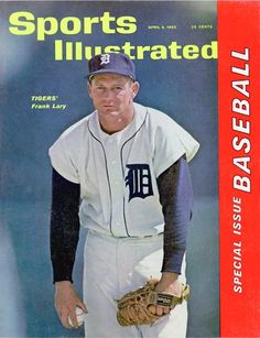 Frank Lary of The Tigers April, 09 1962