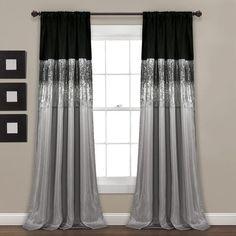 Unique Curtains, Luxury Curtains, Custom Drapes, Modern Curtains, White Curtains, Drapes Curtains, Valance, Black Curtains Bedroom, Striped Curtains