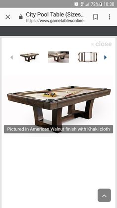 Brunswick Contender Tremont Featuring Beautiful Ball And Claw Leg In - Brunswick tremont pool table