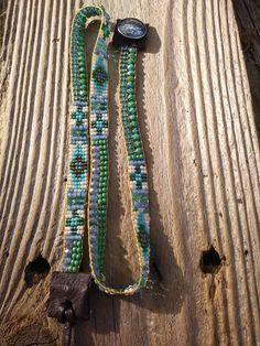 Bead Loom Bracelets, Beaded Wrap Bracelets, Bohemian Bracelets, Beaded Jewelry, Candy Jewelry, Loom Patterns, Loom Beading, Bead Weaving, Handmade Silver
