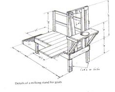 Image result for milking stand plans for nigerian dwarf goats