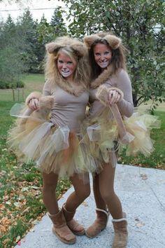 Homemade Lion Costume Ideas. #halloweencostumesforwomen