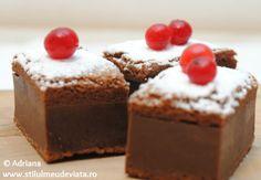 Prajitura desteapta cu cacao / Chocolate magic cake