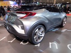 The CH-R concept was first shown in Paris back in 2014 one of 81 pictures from the Toyota Auto Show