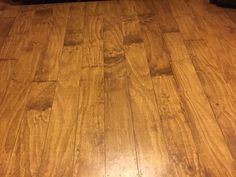 Love my plywood floors. No link just had to show them off. Cut planks (we had the lumber yard do it), nail down, stain add 6 plus coats of polyurethane. We left a gap I wouldn't do that next time.  These are my floors after 3 big dogs have walked on them for several months.