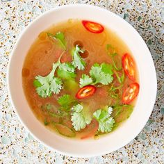 We So Love These 59 Miso Recipes   Bon Appétit Caldo Detox, Detox Soup, Bon Appetit, Miso Recipe, Salsa, Chickpea Patties, Curried Butternut Squash Soup, Lamb Meatballs, Healthy Soup Recipes