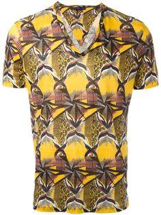 ETRO geometric print T-shirt. #etro #cloth #t-shirt