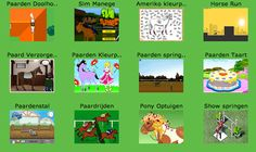 Paarden spelletjes op Minipret!