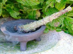 Incenso natural feito com ervas aromáticas, diy em português