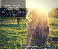 today is a present
