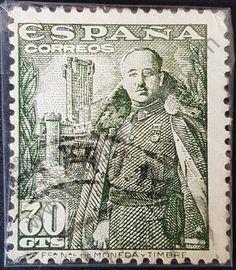 Vintage Stamps, Stamp Collecting, Vintage World Maps, Spain, Castle, Poster, Lettering, Stamping, Bts