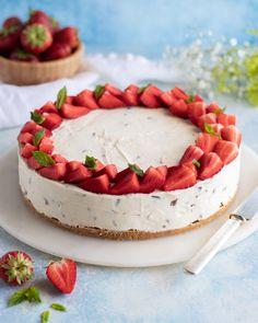 Daimcheesecake - My Kitchen Stories Kitchen Stories, Fika, App, Camembert Cheese, Cheesecake, Dairy, Desserts, Tailgate Desserts, Cheese Cakes