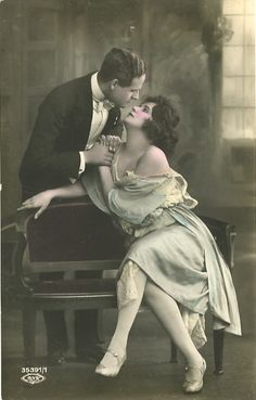 Vintage Couple from maggieponders