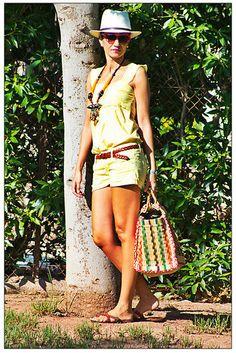 The beach basket of my life!!!  More info in www.farawayheels.com fashion blog