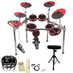 The DD5X Electronic Drum Set is ddrum's re-entry into high-end electronic percussion #ddrum #drum #drummers #music