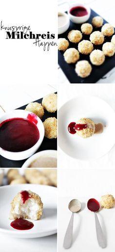 knusprige Milchreishappen :: crunchy rice balls